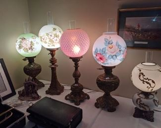 Parlor lamps