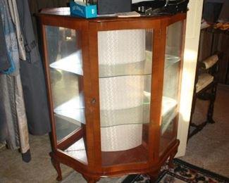 Nice vintage curio cabinet