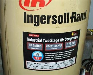 ALL THE INFO YOU NEED TO IDENTIFY THE LARGE COMPRESSOR.  ZERO IN