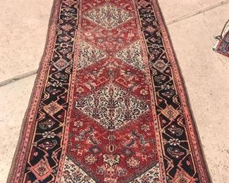 Many Persians rugs and runners