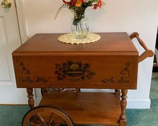 Haywood Wakefield Tea Cart