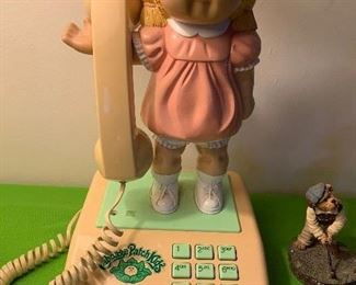Cabbage Patch Telephone (1984 by Coleco)