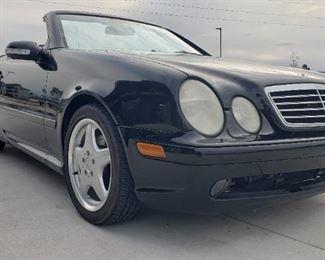 2000 Mercedes Benz CLK 430 Convertible