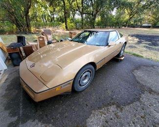 1984 Chevy Corvette, 57k miles, 1 owner