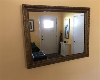 Nice sized mirror to hang over couch