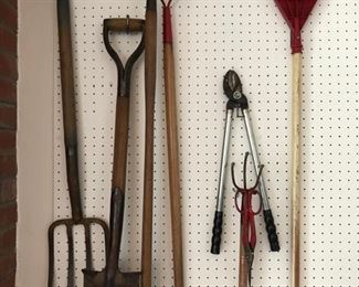 Tools and yard equipment