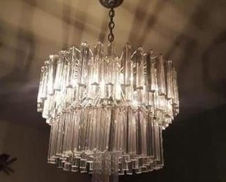 Murano chandelier full
