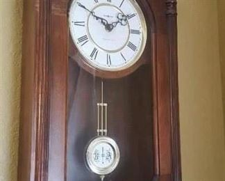 wall clock howard miller westminster chime