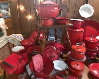 Red Graniteware Collection