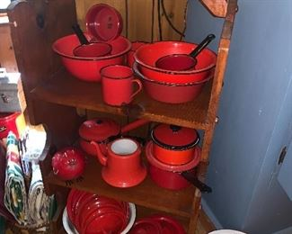 Red Graniteware