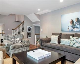 Kravet sofa, armchair