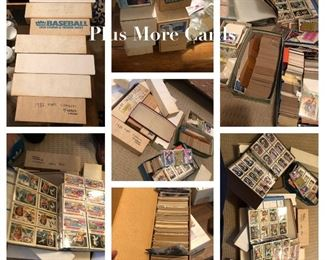 Lots and lots and lots of baseball cards buy them all or buy a box..