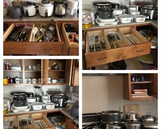 Loads of kitchen items