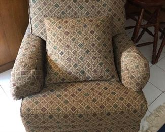 Absolutely comfortable rocking, rocker arm chair in fabulous condition..