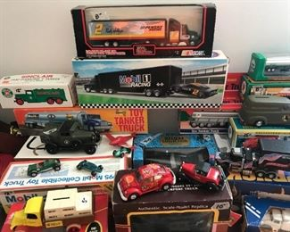 Trucks in original boxes