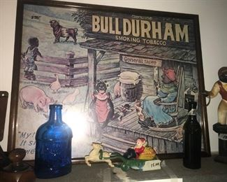 Collectible Bull Durham Tobacco Poster