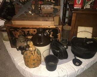 Cast Iron Antiques