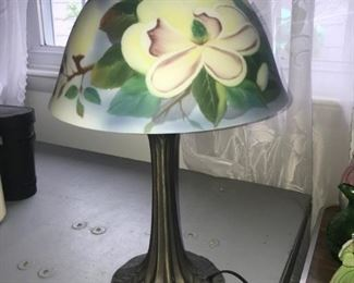 Nice Hand Painted Lamp