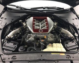 2012 Nissan GT-R Black Shadow