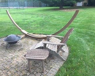 wood hammock