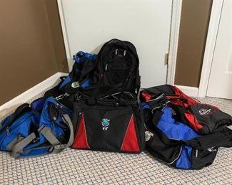 Golf Bags, Back Packs