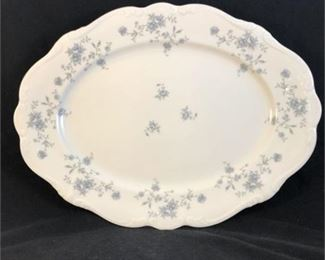 Lot 005 Johann Haviland Blue Garland pattern Bavaria Germany Platter