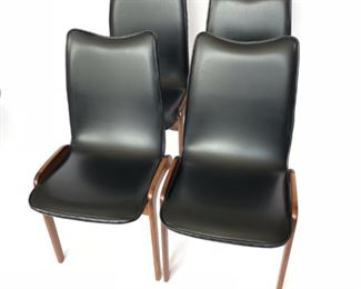 Lot 1 1960's Chet Beardsley Dining Chairs - Set of (4)
