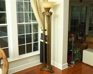 7. Bronze Finish Empire Style Floor Lamp