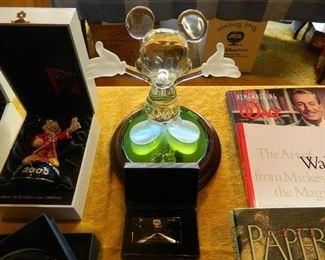crystal Mickey statue