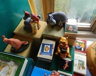 Winnie the Poo figures