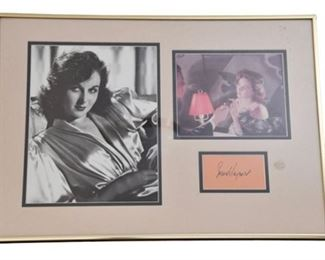 4. Susan Hayward Autograph and Photos