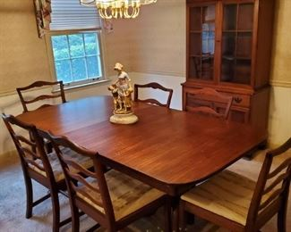 Beautiful Antique Dining Room Suite