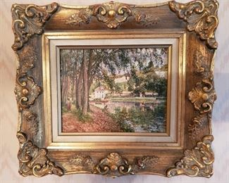 Ornately Framed Paintings