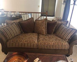 $145 - 2 Cushion Sofa