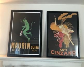 $45 Each - Framed Posters