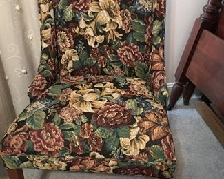 Tapestry side chair