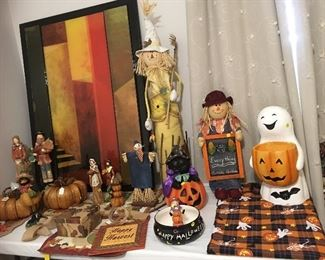 Thanksgiving and Halloween