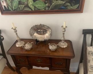 Antique Reed and Barton Repousse Silver Set asking $3000 or best offer- Available for pre sale purchase