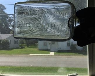 Glass advertising scoop Buffalo, NY
