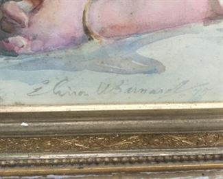Signature Elinor Barnard