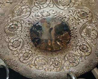 Large sterling bowl