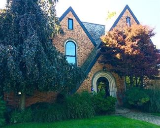 Beautiful historic home where the sale will be held!  The home is for sale!