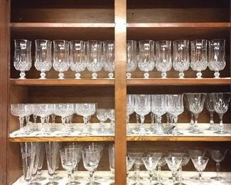 Glass and Crystal stemware