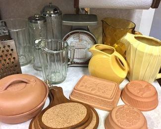 Vintage kitchen pieces