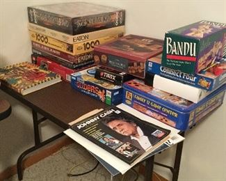 MORE PUZZLES AND GAMES