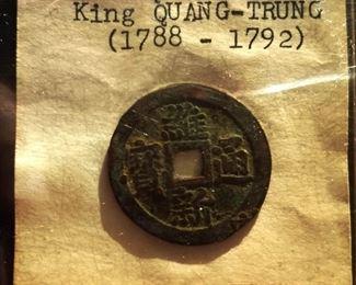 1788-1792 Viet Nam King Quang-Trung Bronze Coin