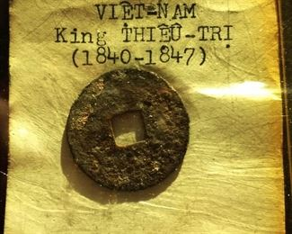 1840-1847 Viet Nam King Thieu-Tri Bronze Coin