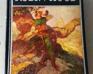 """1938 Ed. """"Robin Hood"""" Hardback Book"""