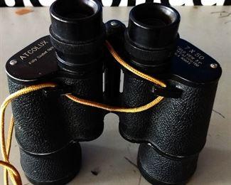 Vintage Atcolux Binoculars