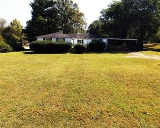 3 or 4 Bedroom/1.5 Bath Home on .55 Acre Corner Lot. Fenced Back Yard. Zoned R-10.